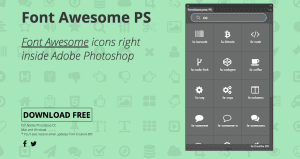 Font Awesome PS